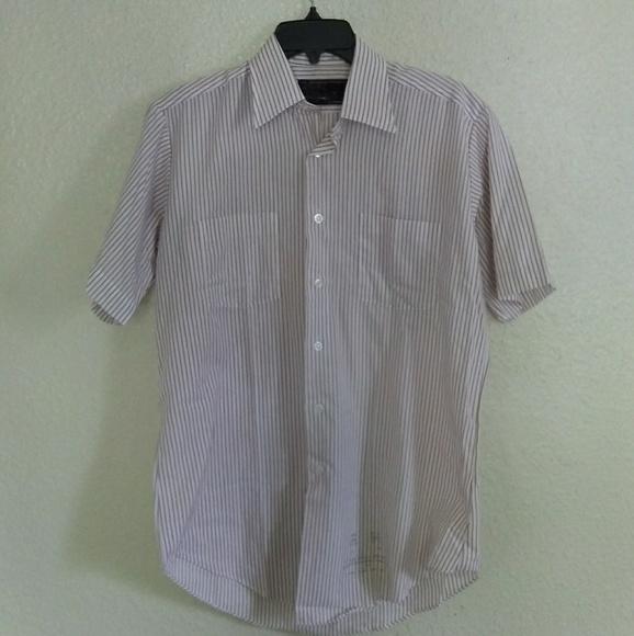 6f1ed4117 Vintage 80s Sears Men's Short Sleeve Dress Shirt
